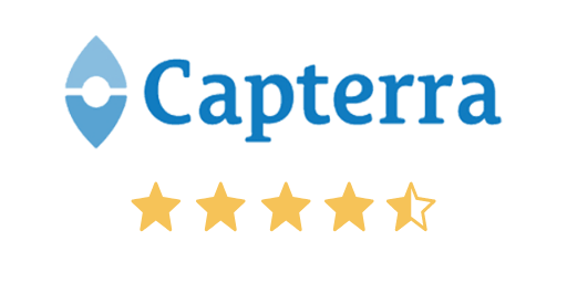 Capterra Restaurant POS Software Rating 4.5