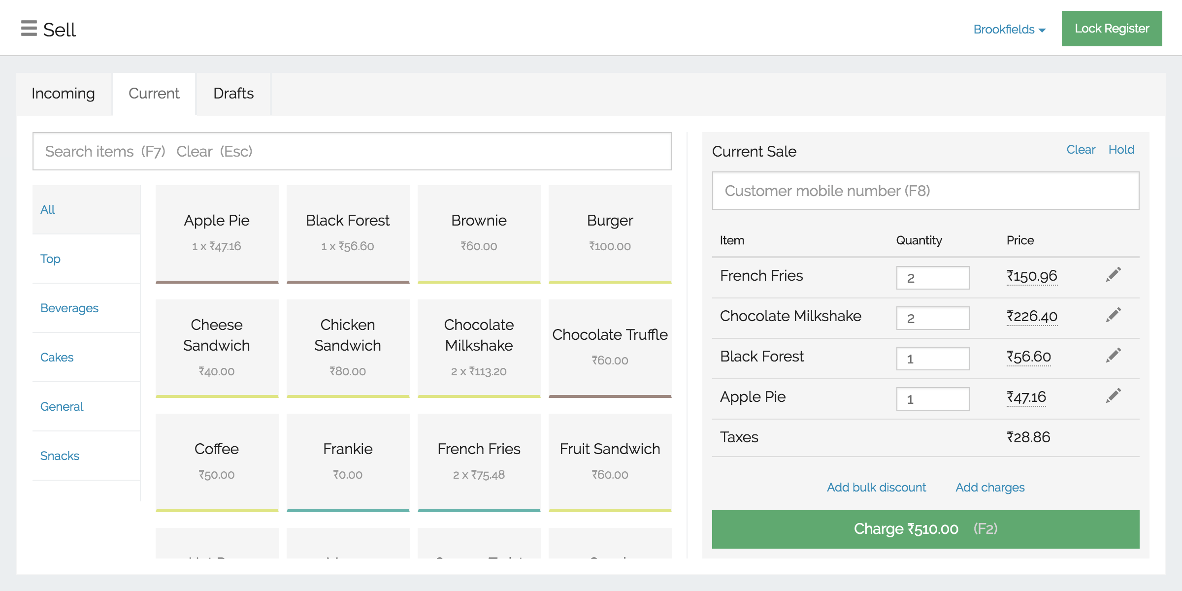 Restaurant Inventory Management Software Recipe Stock