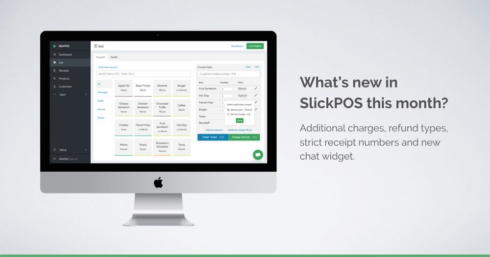 New POS features - Additional charges, refund types