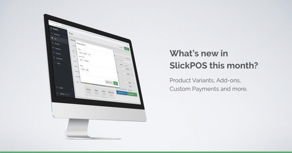 SlickPOS Updates Oct 2018