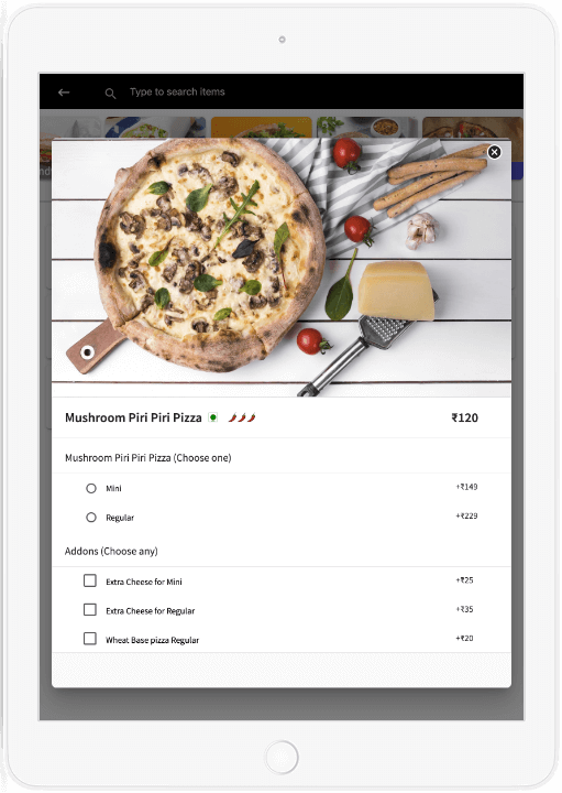 Table Management with iPad POS