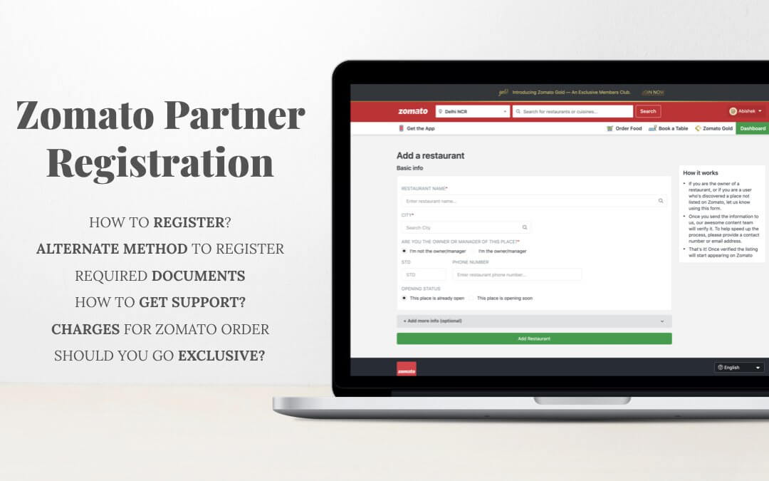 Zomato Partner Registration – Ways to Tie up & List your Restaurant