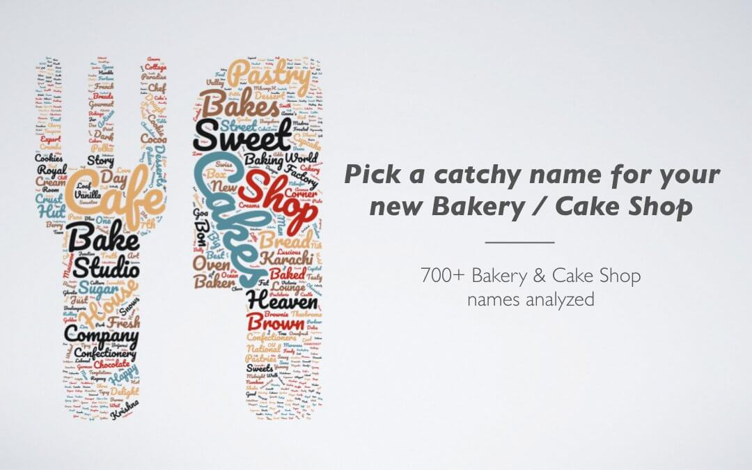 700+ Bakery Names & Cake Shop Name Ideas