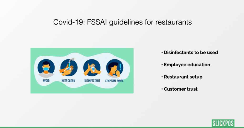FSSAI guidelines for restaurants during covid-19