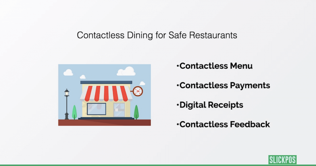Contactless dining