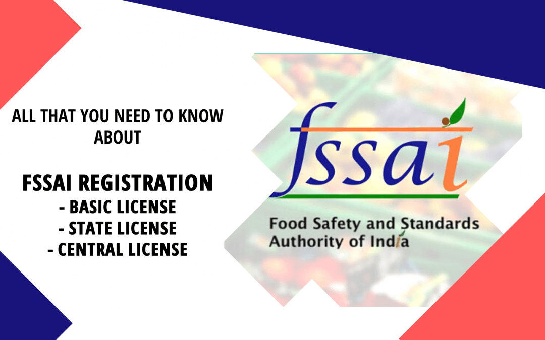 FSSAI registration process – Documents required & charges.